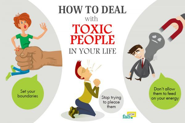 how to deal with toxic people in life