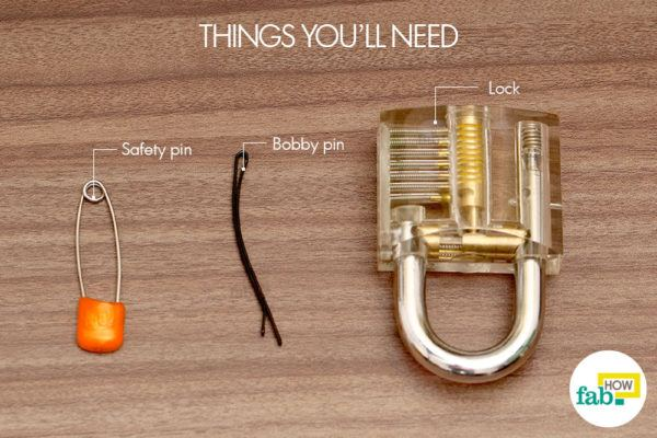 Pick a lock things need
