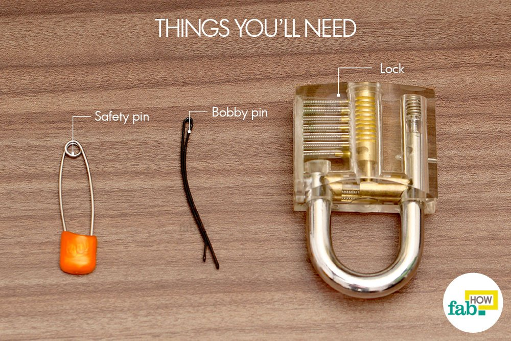 How to Pick a Lock with a Hairpin Fab How