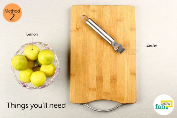 Using-zester-things-need