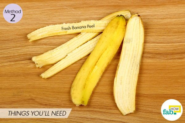 Banana peel method thingsneed