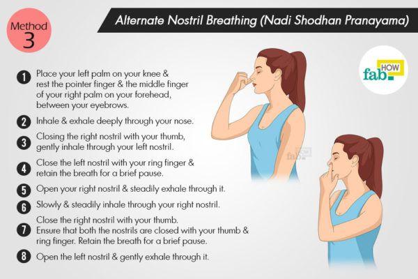 Alternate-Nostril-Breathing (Nadi Shodhan Pranayama)