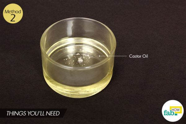 Castor oil massage things need