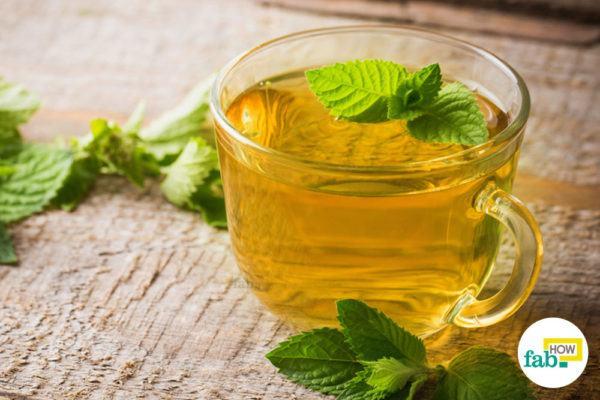 Green tea for staying awake