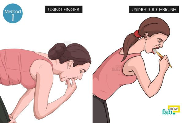 Using Your Finger or Toothbrush
