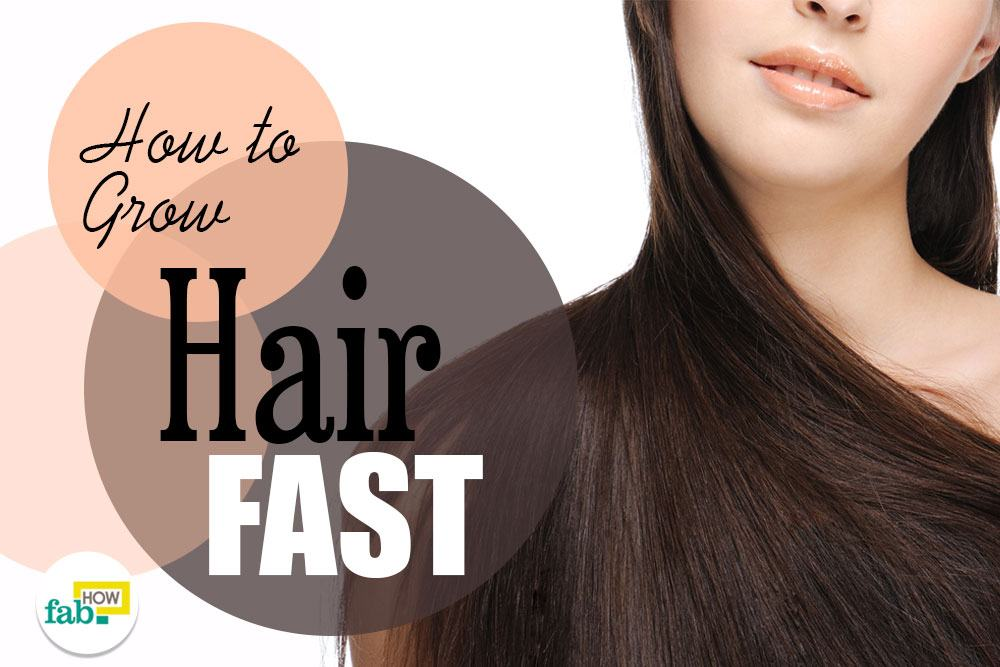 how to grow hair faster and longer youtube