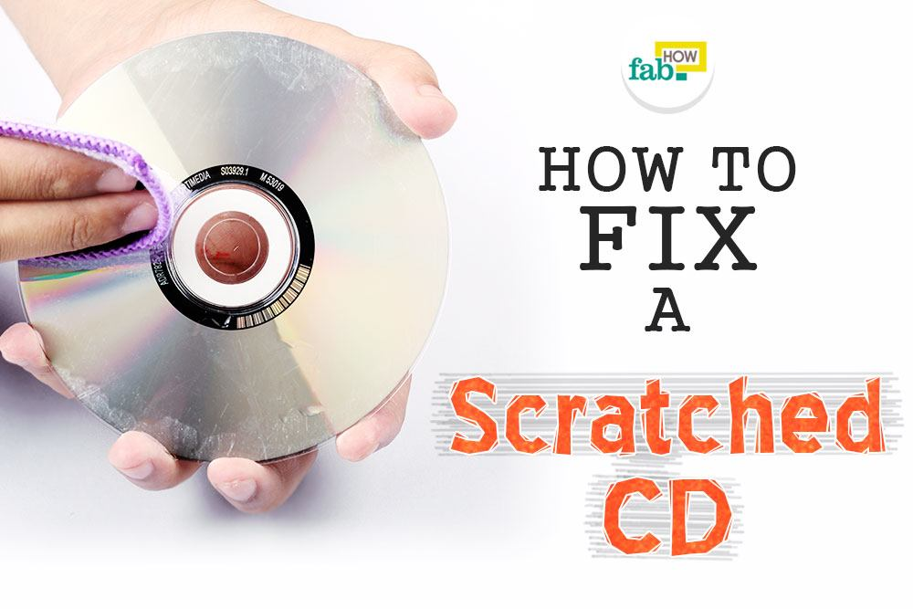 Fix scratched cd 5 minutes