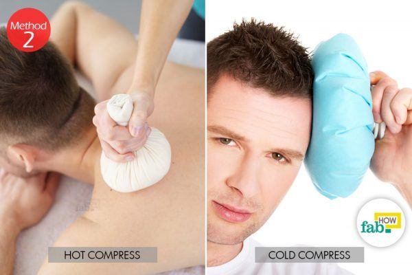 hot or cold compress