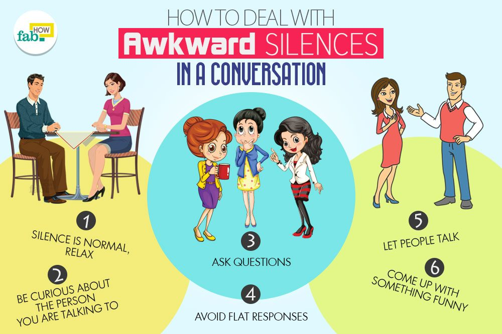 How to deal with awkwardness