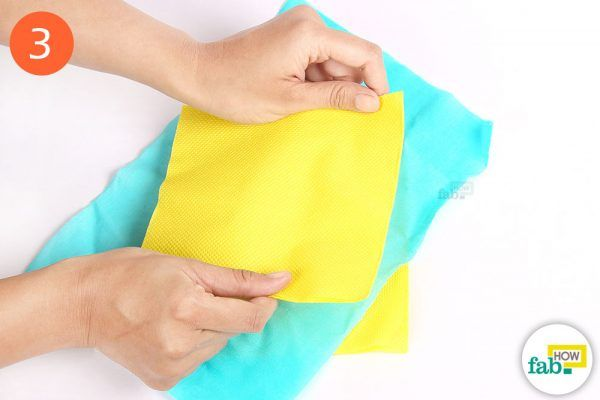 remove wax stains from fabric
