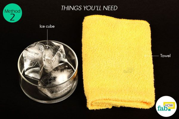 Ice cubes things need