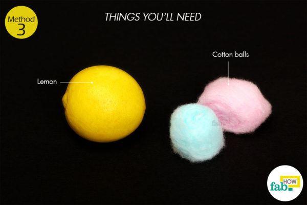 Lemon things need