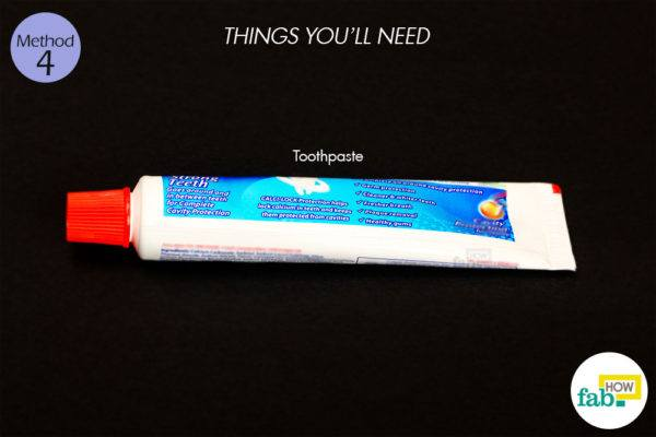 Toothpaste things need