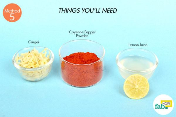 Using cayenne pepper things need