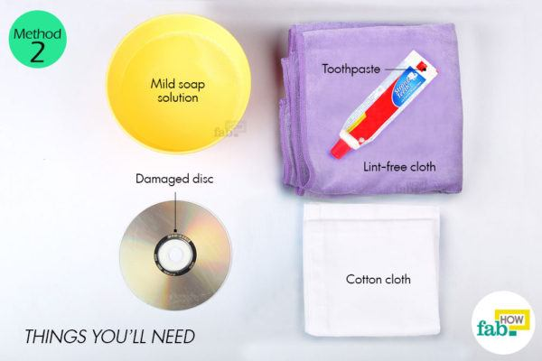Using toothpaste things need