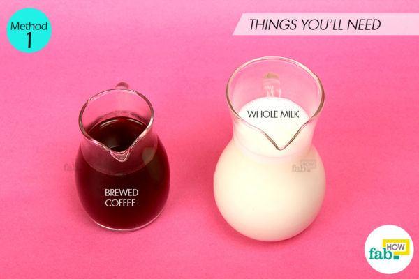 Using brewed coffee things need
