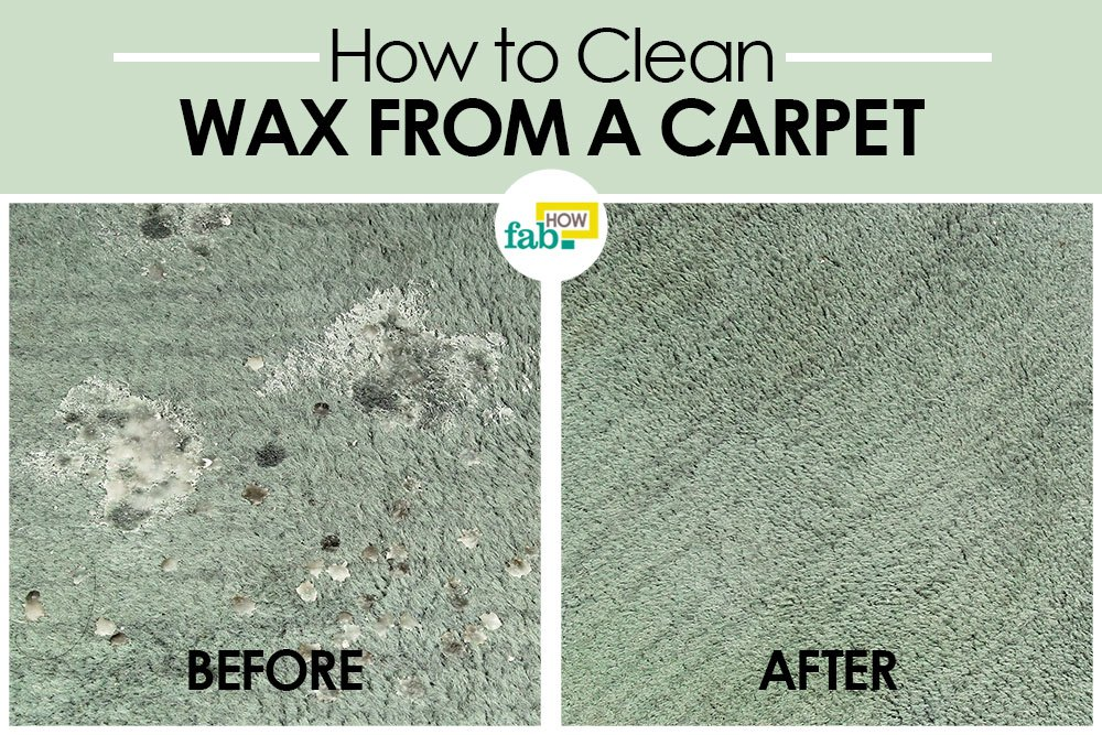 how to remove candle wax from carpet fast and easy fab how. Black Bedroom Furniture Sets. Home Design Ideas