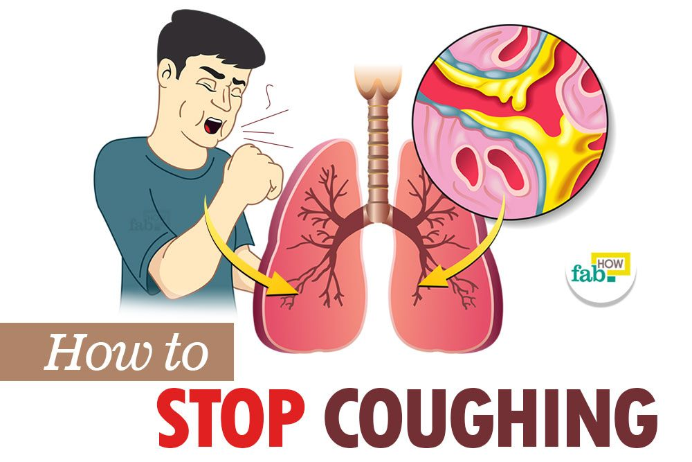 how to clear your lngs to stop coughing