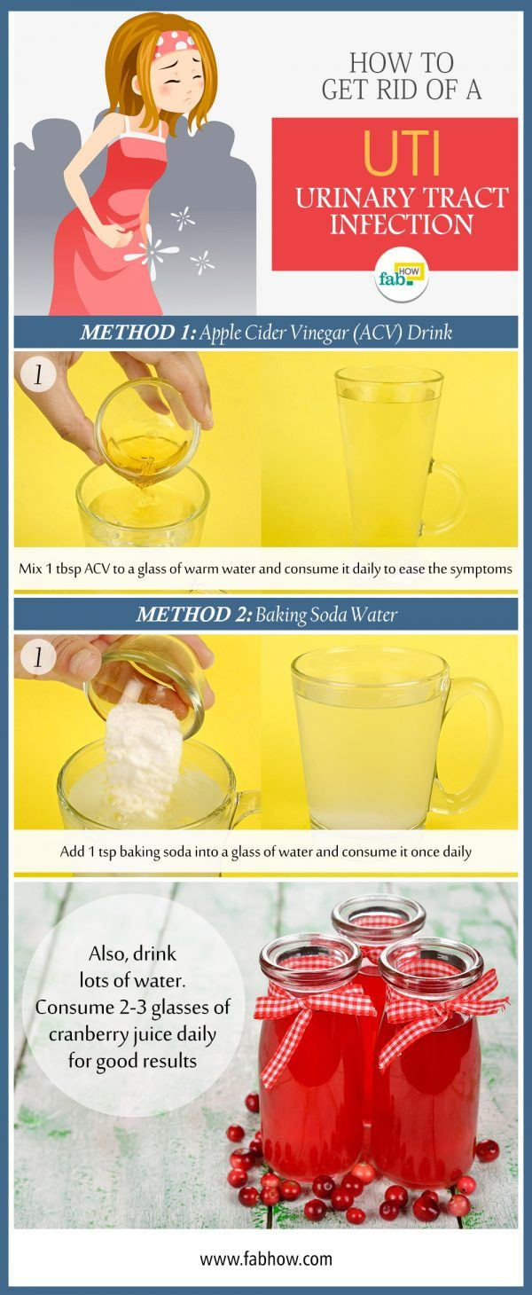 how to get rid of UTI