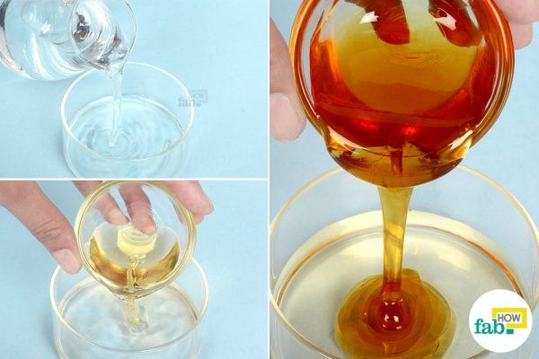 combine ACV and honey to get rid of acne scars