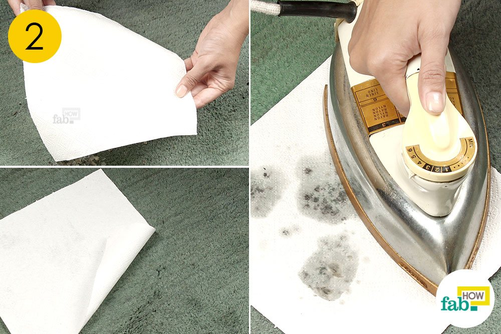 How To Remove Candle Wax From Carpet Fast And Easy Fab How - Lift off floor removal