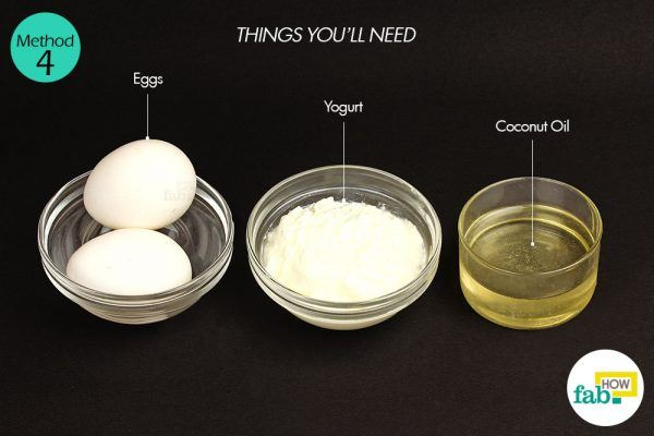 egg mask for dry hair