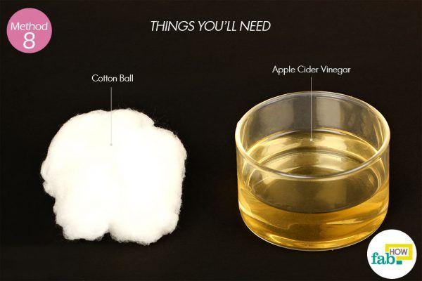 using apple cider vinegar