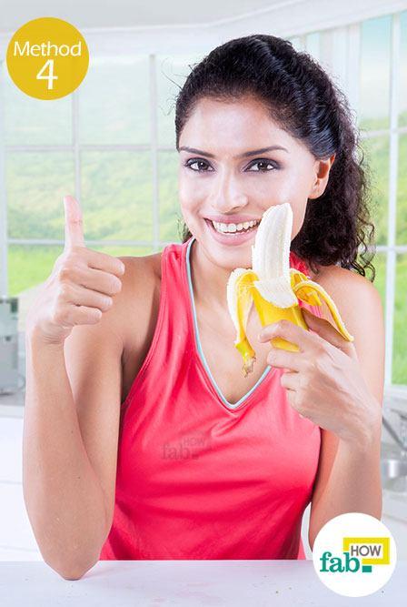 using-banana