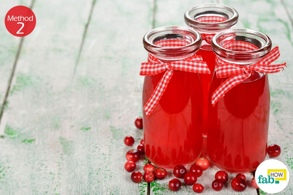 How to get rid of a uti without antibiotics fab how method 2 using cranberry juice ccuart Choice Image