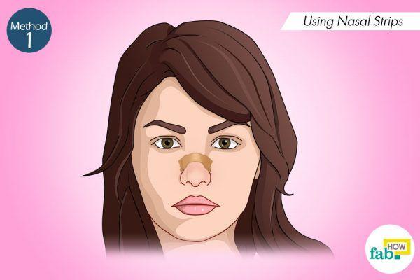 using nasal strips