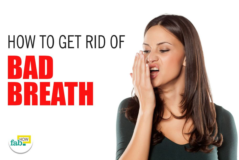 how to get rid of smelly breath