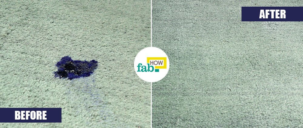 How To Remove Ink Stains From Carpet With Household Items