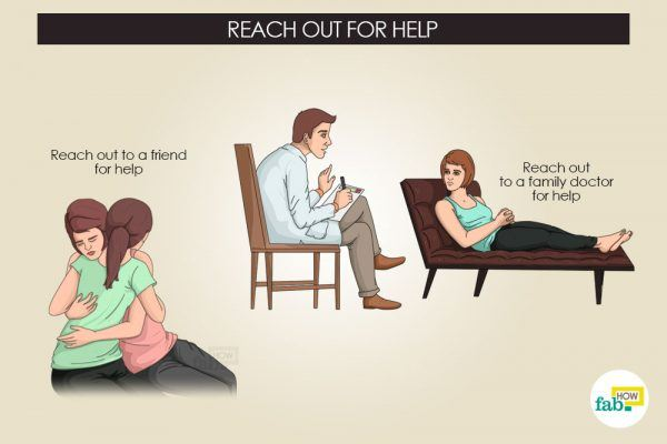 reach out for help to avoid suicidal thoughts