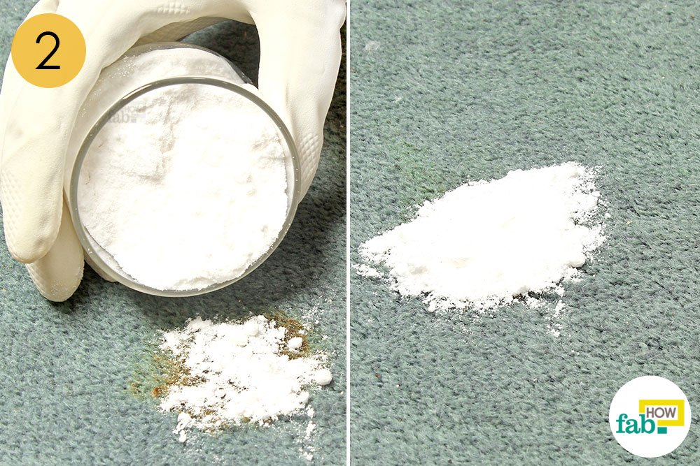 how to get wine out of carpet baking soda