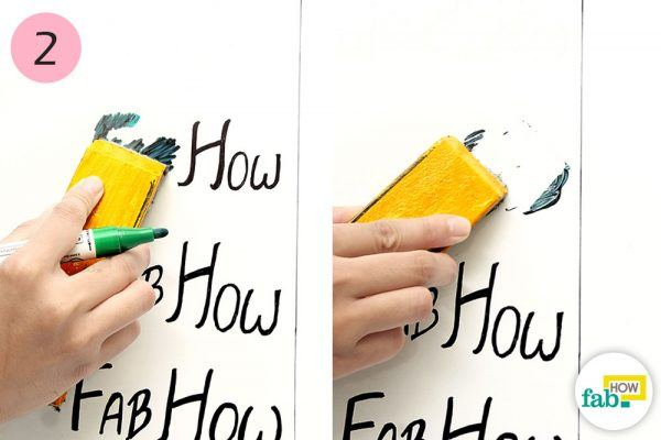 white board eraser to clean dry erase board
