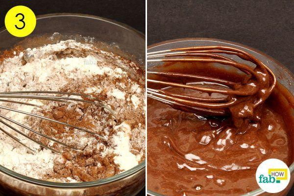 prepare chocolate mug cake in 5 min