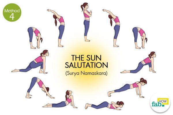 sun salutation to grow taller