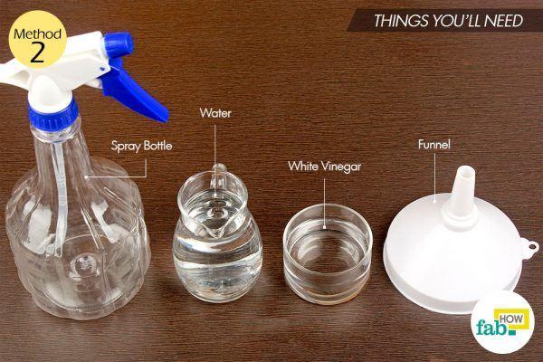 vinegar to get rid of ants