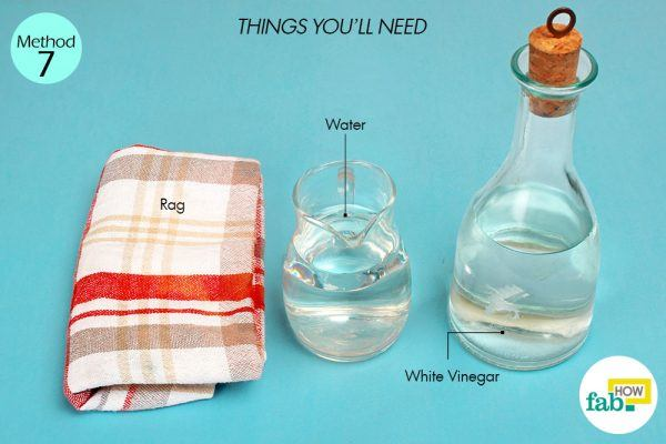 white vinegar to clean dry erase board things need