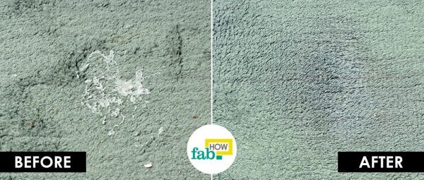 hair spray to remove carpet stain from carpet