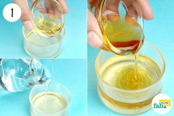 mix acv, water and honey for age spots