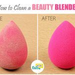 beautyblender cleaning