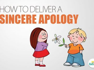 how to apologize correctly