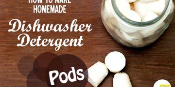 make dishwasher detergent