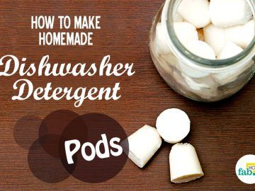 make dishwasher detergent