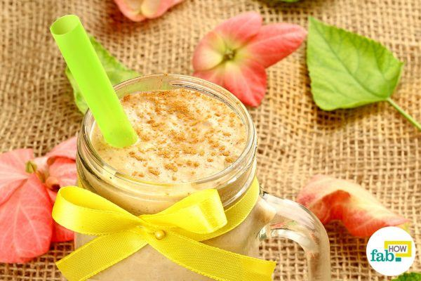 make pumpkin smoothie