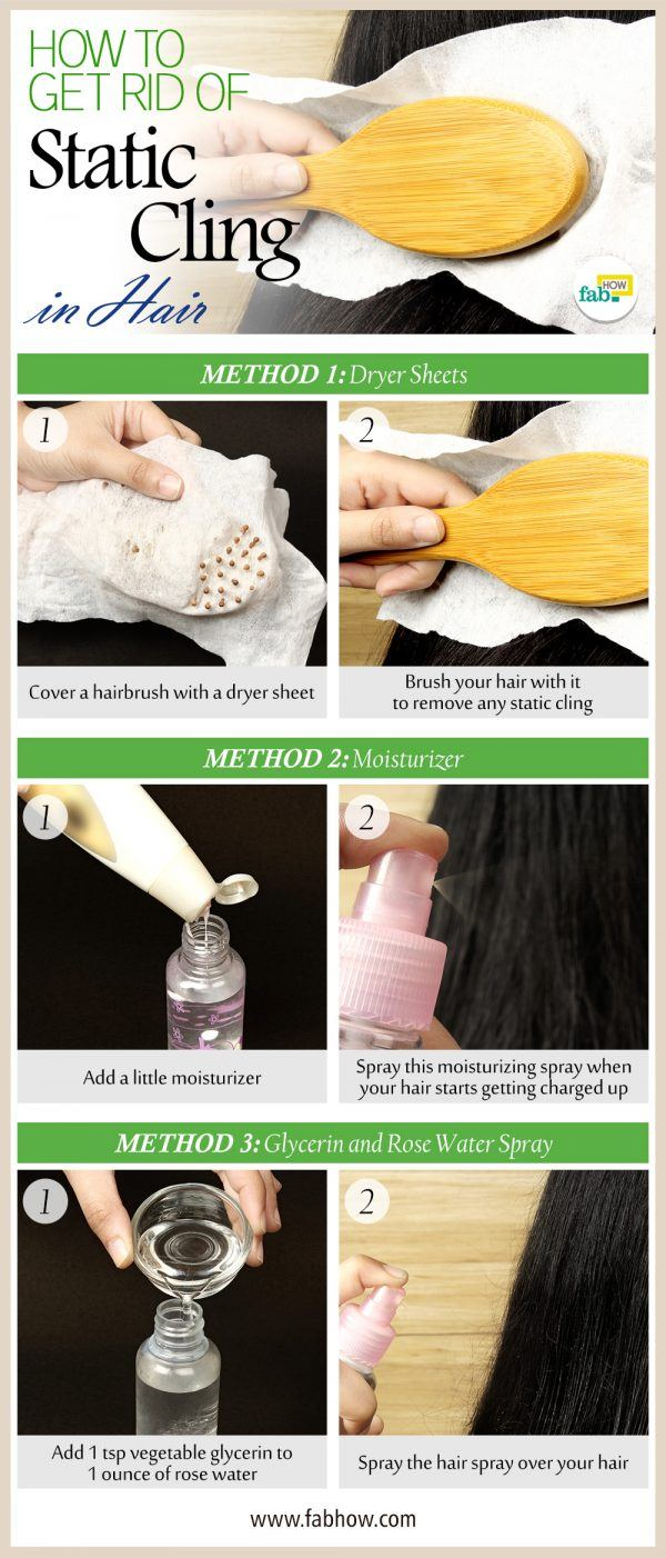 How To Get Rid Of Static Cling In Hair