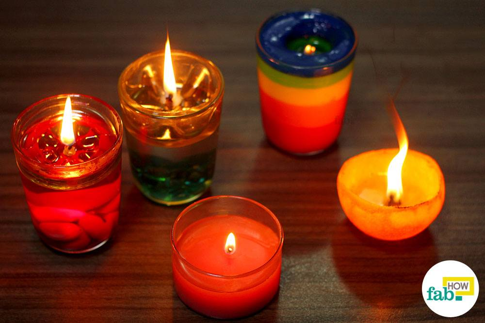 Candles Without Wax