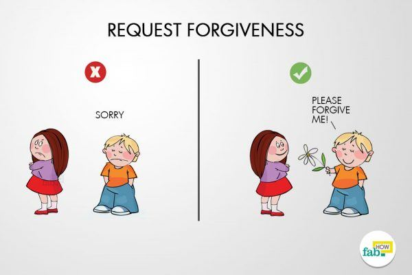 request frogiveness sincere apology