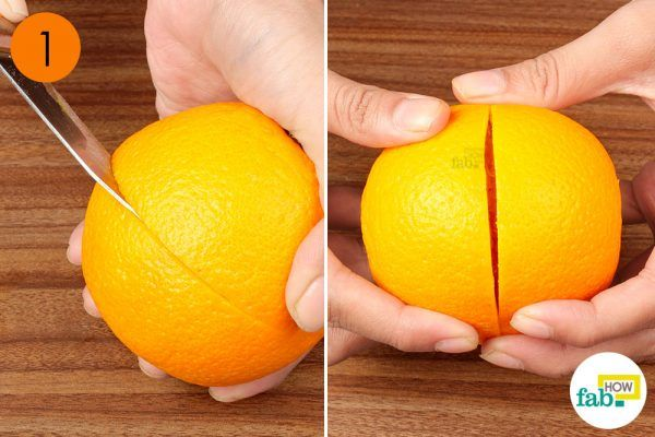 slice your fruit into half